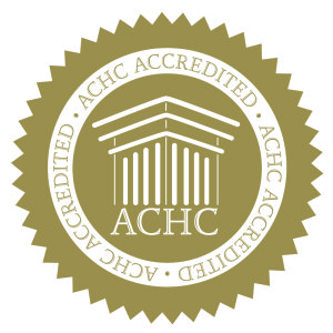 Gold Accredited Logo