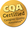 Gold CQA seal png