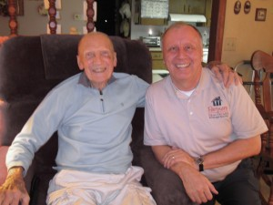 WWII Army Air Corps Vet and Hank a Navy Vet