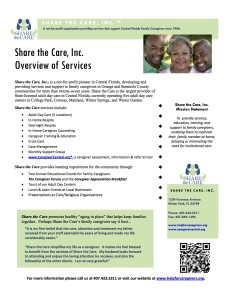 Share the Care